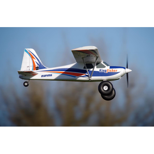 FMS Kingfisher Trainer PNP incl. Schwimmer & Ski - 140 cm...