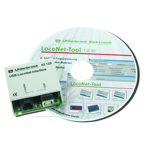 Uhlenbrock 63120 USB-LocoNet Interface