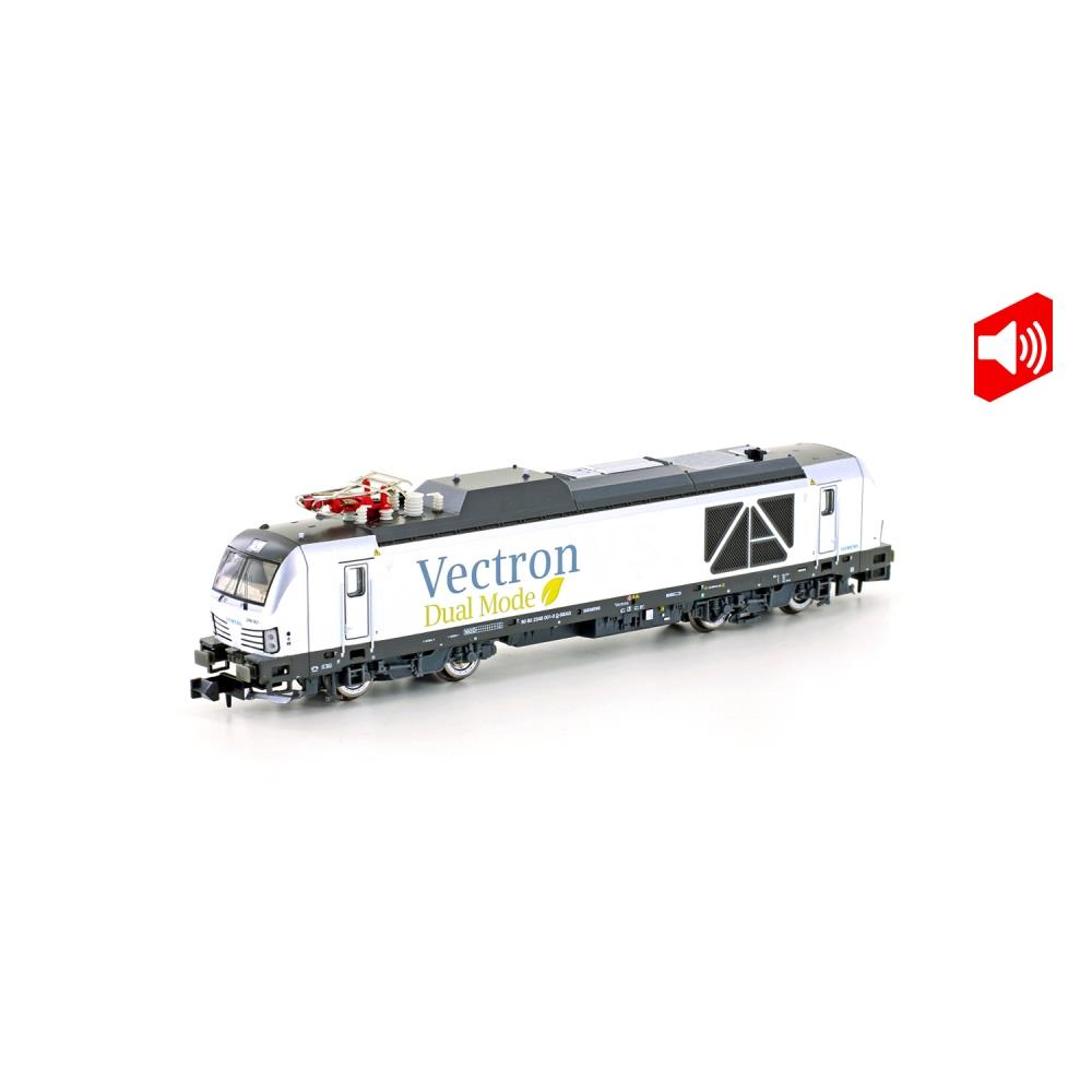 Hobbytrain H3120S Spur N BR 248 Vectron Dual Mode Demonstrator, Ep.VI Sound