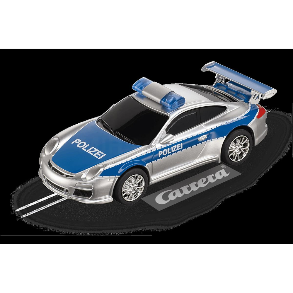 Carrera Digital 143 Porsche GT3 Polizei
