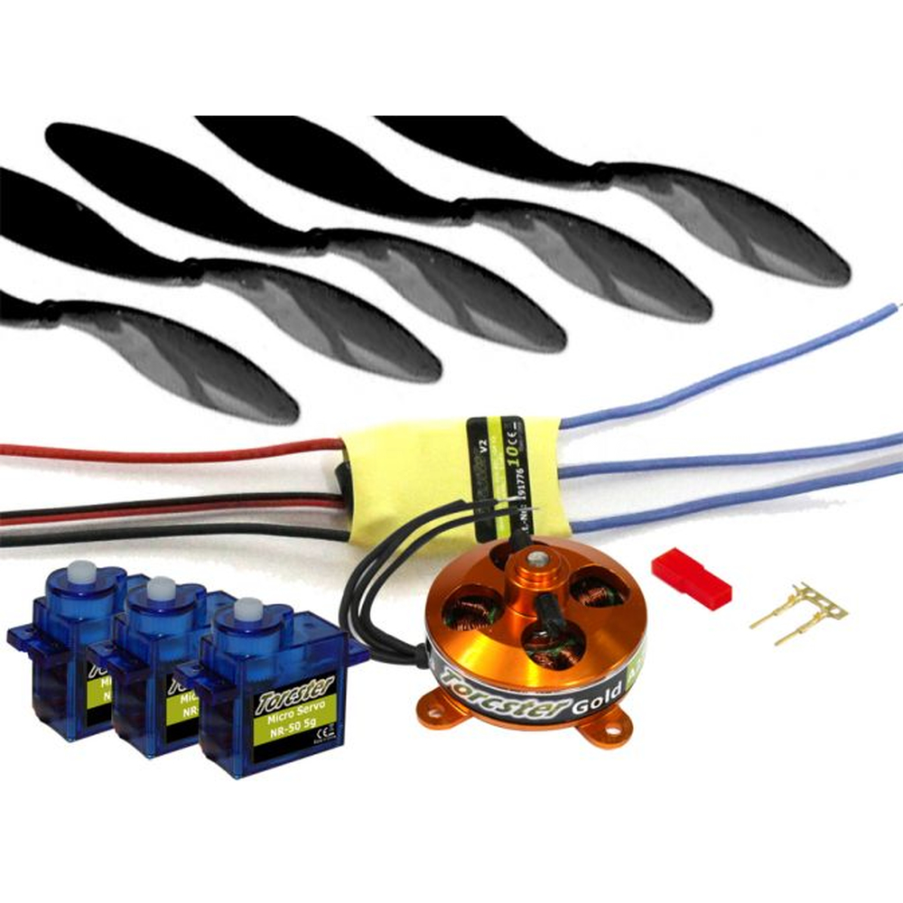 Torcster Shock-Flyer Mega Pack B brushless Antriebscombo