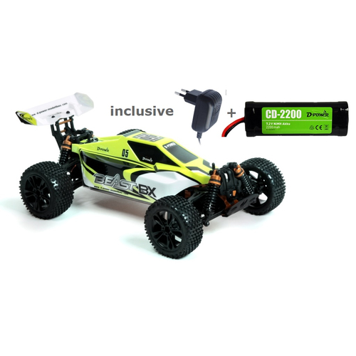 BEAST BX Buggy RTR 1/10 Brushed RC-Car