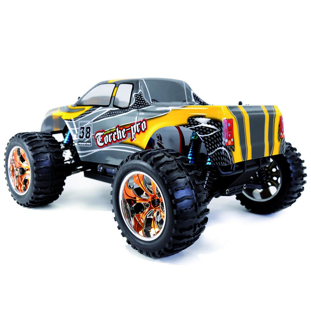 Amewi Monstertruck Torche Pro M 1:10 / 2,4 GHz / Brushless 70 km/h, 2